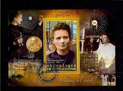 Pobřeží slonoviny 2013 - Marie Curie-Sklodowska