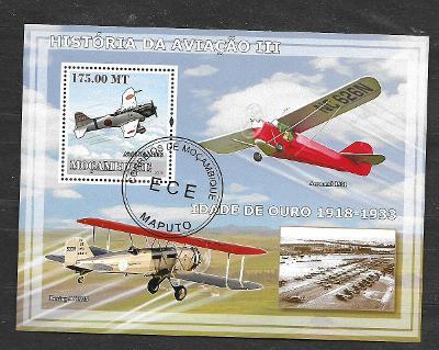 Mosambik 2009-Letadla III.-Aichi (1939), Aeronea (1931), Boeing (1925)