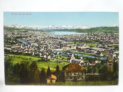 Švýcarsko - Zurich - Alpy