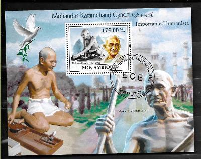 Mosambik 2009 - Mahatma Gandhi