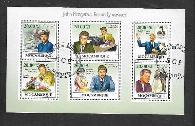 Mosambik 2009-  John Fitzgerald Kennedy, Apollo 11