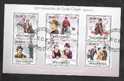 Mosambik 2009 - Charlie Chaplin