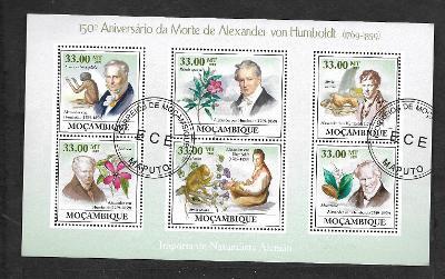 Mosambik 2009-Alexander Humbolt-ibišek, kotevnice,myrta, lvíček zlatý,