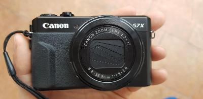 Fotoaparát Canon PowerShot G7X Mark II