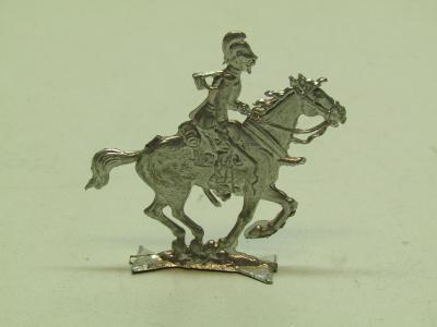 Starý cínový vojáček na koni