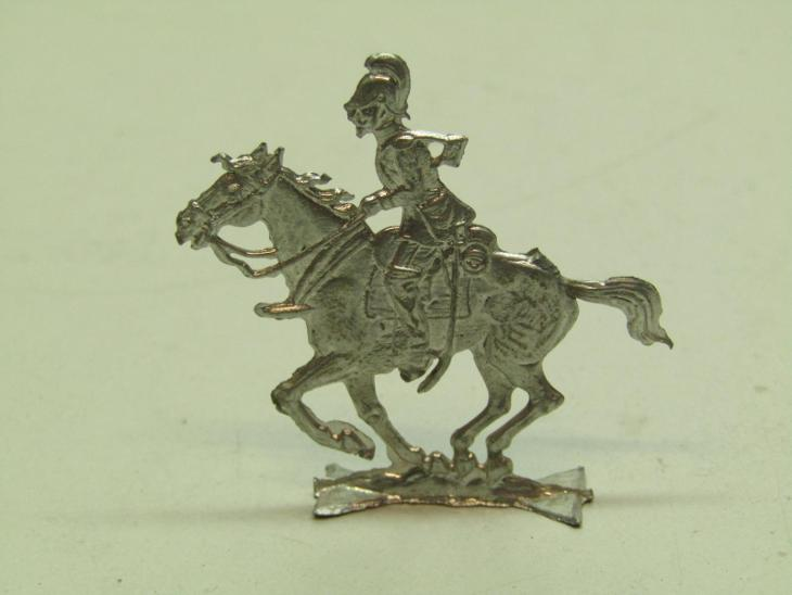 Starý cínový vojáček na koni  - Starožitnosti