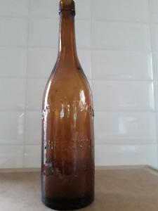 Staré sběratelské pivní lahve č.13 Březnice