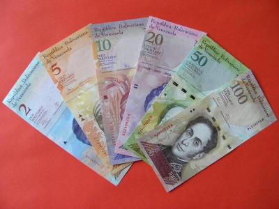 Bankovky Venezuela 2007-2015 - UNC -  /A42/