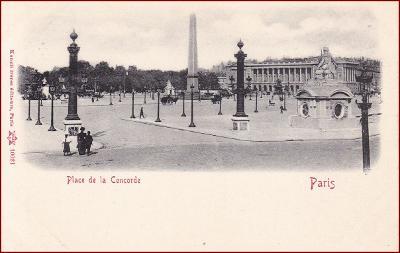 Paris * Place de la Concorde, Stengel * Francie * Z231