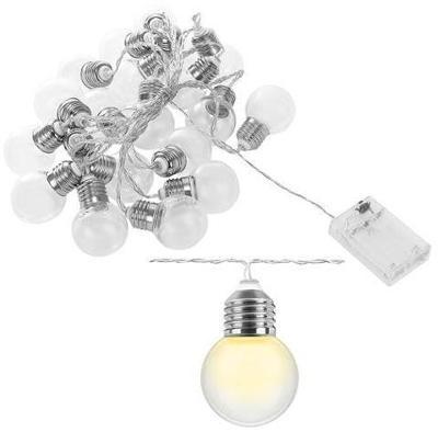 LED SVĚTELNÝ ŘETĚZ 20ks + dárek