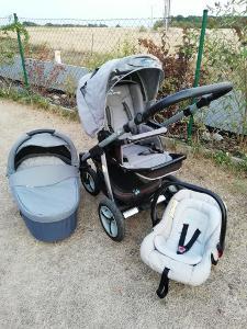 Kočárek Baby design Lupo trojkombinace kompletní