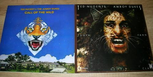Ted Nugent –Call Of The Wild + Tooth, Fang & Claw (1977) 2xLP ,NM-