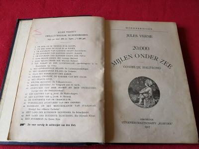 Stará kniha z roku 1917/Jules Verne...(9528)