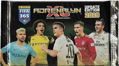 Fotbalové kartičky FIFA 365 2019 UPDATE Adrenalyn XL  : Nové balíčky !