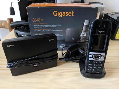 VOIP telefon Siemens Gigaset C610 IP ( analog i VOIP )