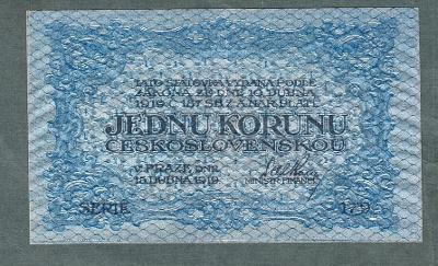 1 koruna 1919 serie 179 stav 1+
