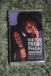 Kazeta -  Victor Preiss - Pražský písničkář