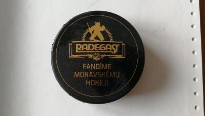 Hokejový puk Radegast