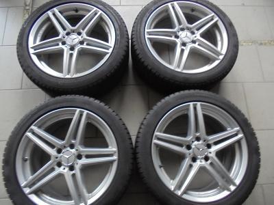 18 alu Mercedes E, S, C, Audi, VW, Škoda, ET 34.5, 5x112mm 4kusy