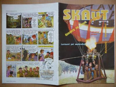 Časopis - Magazín - Skaut - Junák - z listopadu roku 1992
