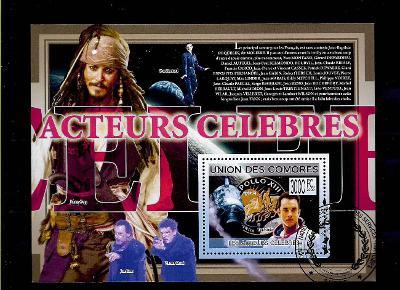 Komory 2009-Tom Hanks,Johnny Depp,Jean Reno,Yves Montand,Cassel,Apollo