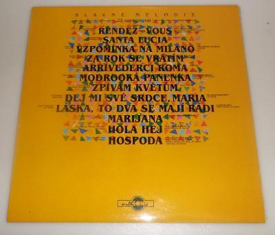 Slavné melodie - 25 evergreenů