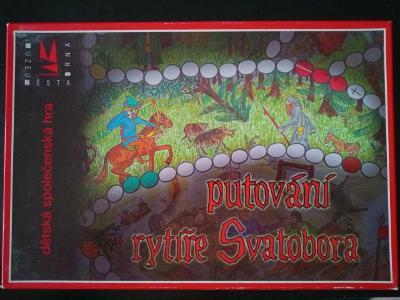 Desková hra - Putování rytíře Svatobora RARITA