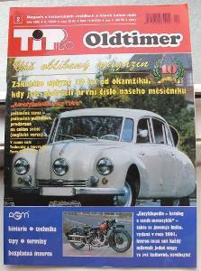 časopis veterán TIP pro OLDTIMER  2/2002 ,    TATRA 603
