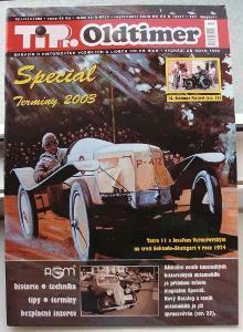 časopis veterán TIP pro OLDTIMER  SPECIAL 2003