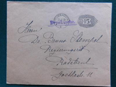 Dopis - 194* - Dresden - Deutsches Reich - Německo