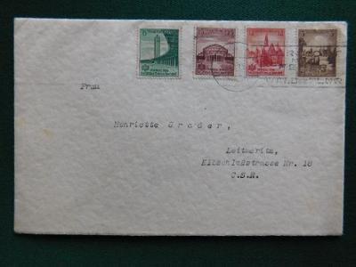 Dopis - 1933 - Deutsches Reich - Německo