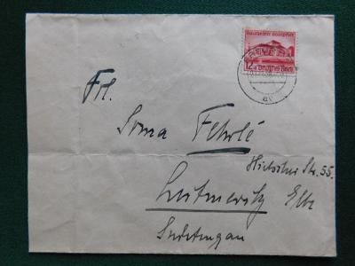 Dopis - 1938 - Deutsches Reich - Německo