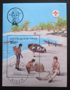 Niger 1982 Skauting, 75. výročí Mi# Block 37 1728