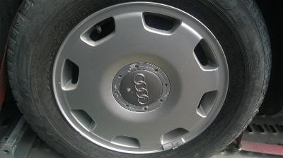 ALU KOLA audi 16 + zimní pneu 225/60/16, 7 - 7.5mm