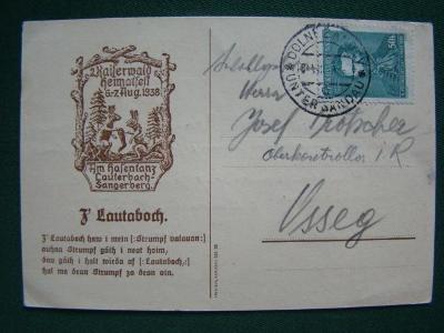 Lístek - 1938 - Dolní Žandov