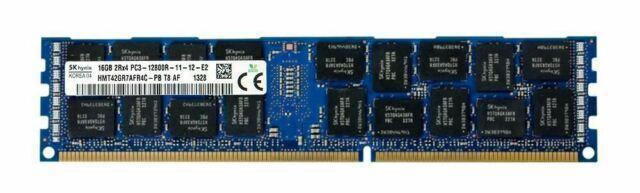 Operační pamět RAM 16GB DDR3 ECC 1600 Mhz HYNIX (podpora korekce chyb)