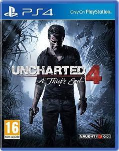 PS4 - Uncharted 4: A Thief's End + naplnění peněženky 1000 a 500 CZK