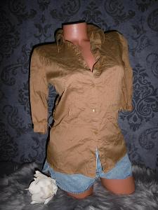 HM krásná příjemná vypasovaná dámská košile halenka 38