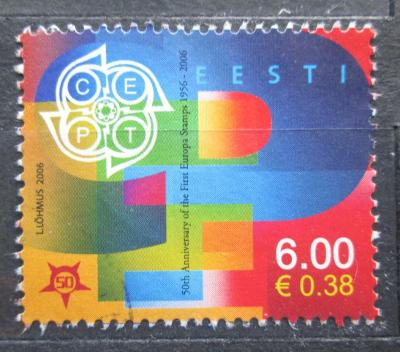 Estonsko 2006 Výročí Evropa CEPT Mi# 537 1737