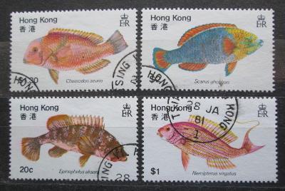 Hongkong 1981 Ryby Mi# 368-71 1738