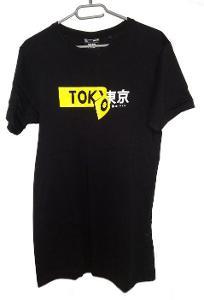 Tokyo tričko, vel. XS, Cropp