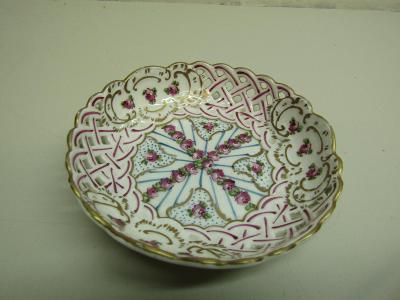 Starožitná porcelánová miska značená / Míšeň / Meissen Germany