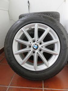 """Alu kola se zimními pneu 16"""" na BMW : 4 ks, rozteč 5x112, ET 52"""