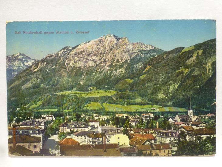 Německo - Alpy - Bad Reichenhall - Pohlednice