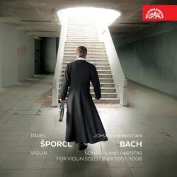 Pavel Šporcl - Sonáty a partity pro sólové housle, 2CD, 2015