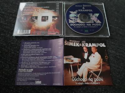 CD ŠIMEK / KRAMPOL - DŮCHODCI NA POŠTĚ / to nej II. rare 2001 humor
