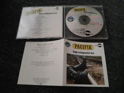 CD PACIFIK - STOPY SEŠLAPANEJCH BOT 1991 rare MULTISONIC