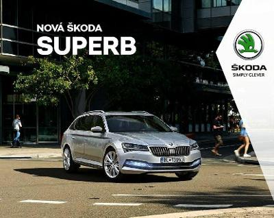 Škoda Superb model 2020 prospekt 08 / 2019 SK 108 s.