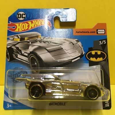 stříbrný Batmobile - Hot Wheels 2020 9/250 (E12-33)