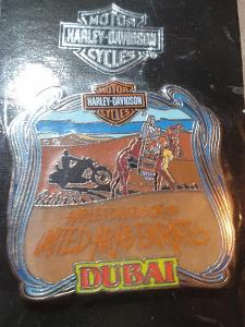 Harley Davidson sběratrlský odznak